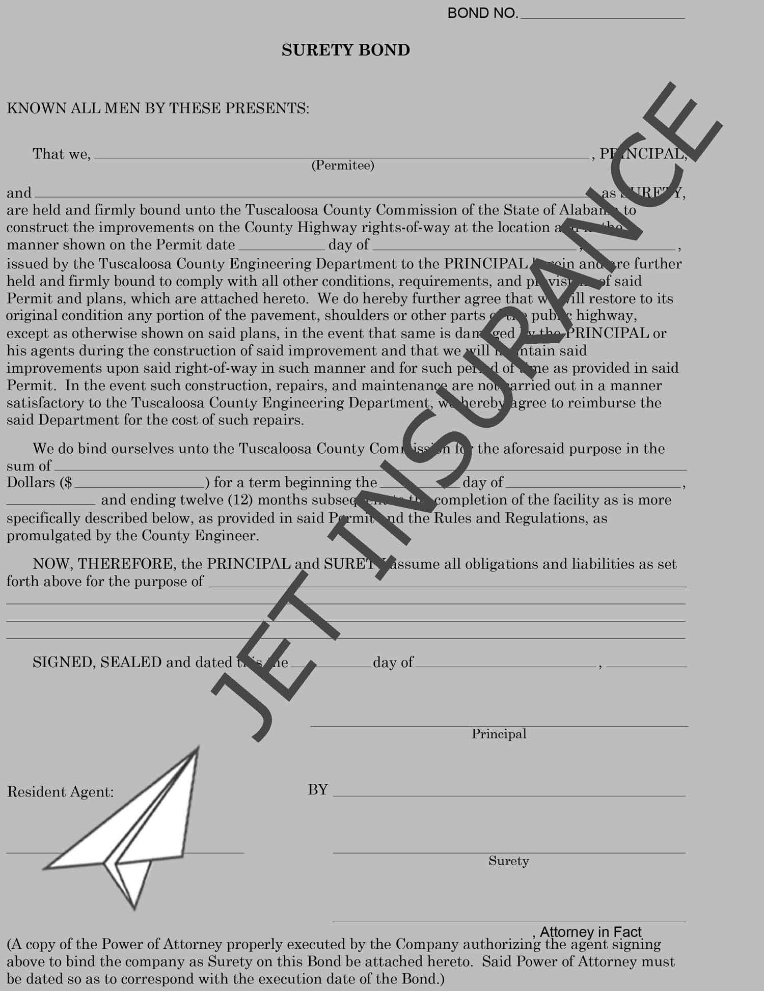 Alabama iron workers union 92 wage and welfare bond
